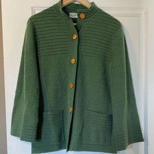 3 / $30! ♡ Vintage Green Cardigan